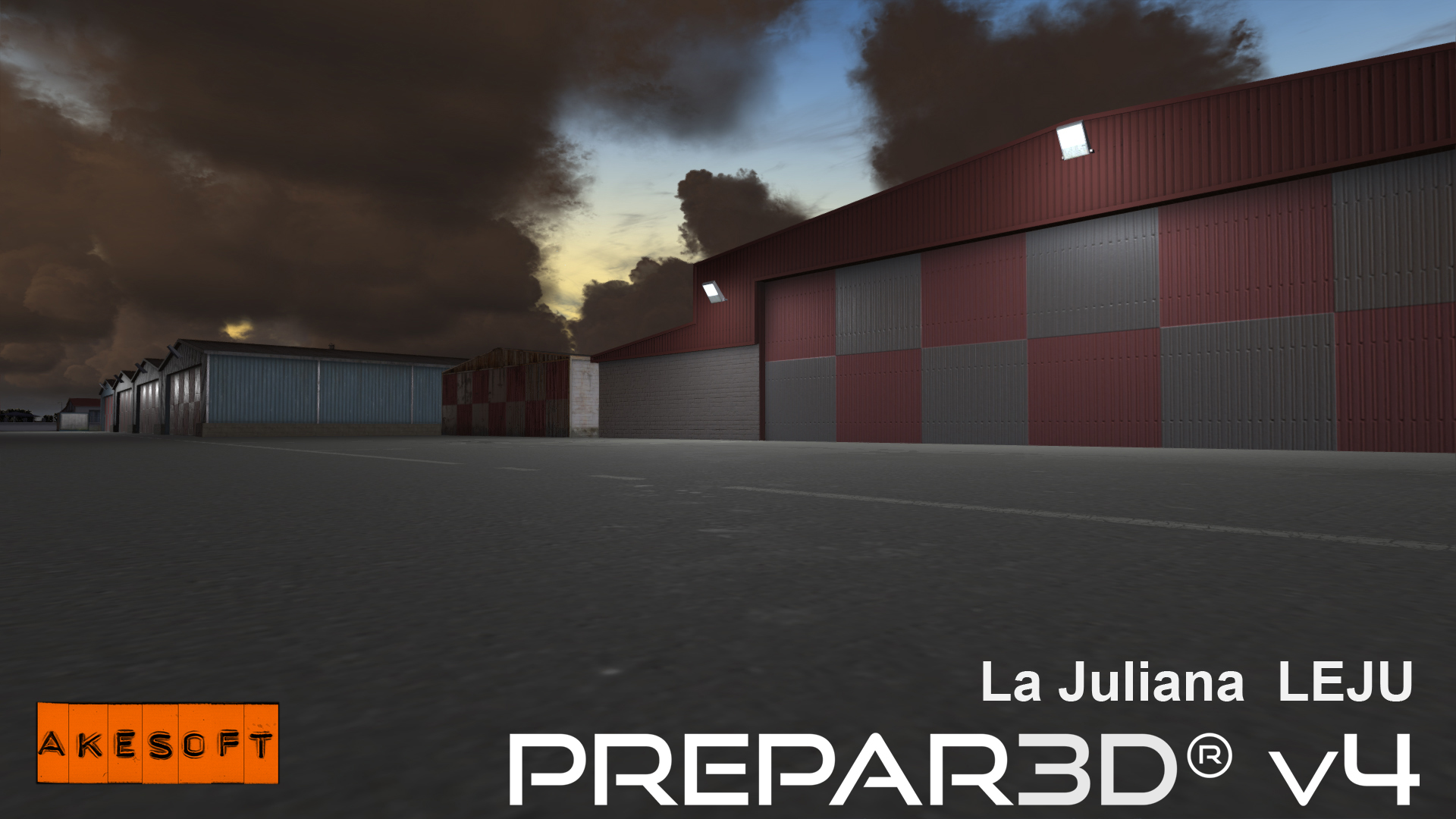AKESOFT - LA JULIANA LEJU P3DV4 AND V5