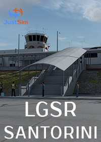 JUSTSIM - SANTORINI INTERNATIONAL AIRPORT P3D4.4+