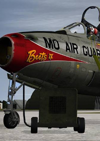 SIM SKUNK WORKS - REPUBLIC F-84 F THUNDERSTREAK FOR P3D V 5.X