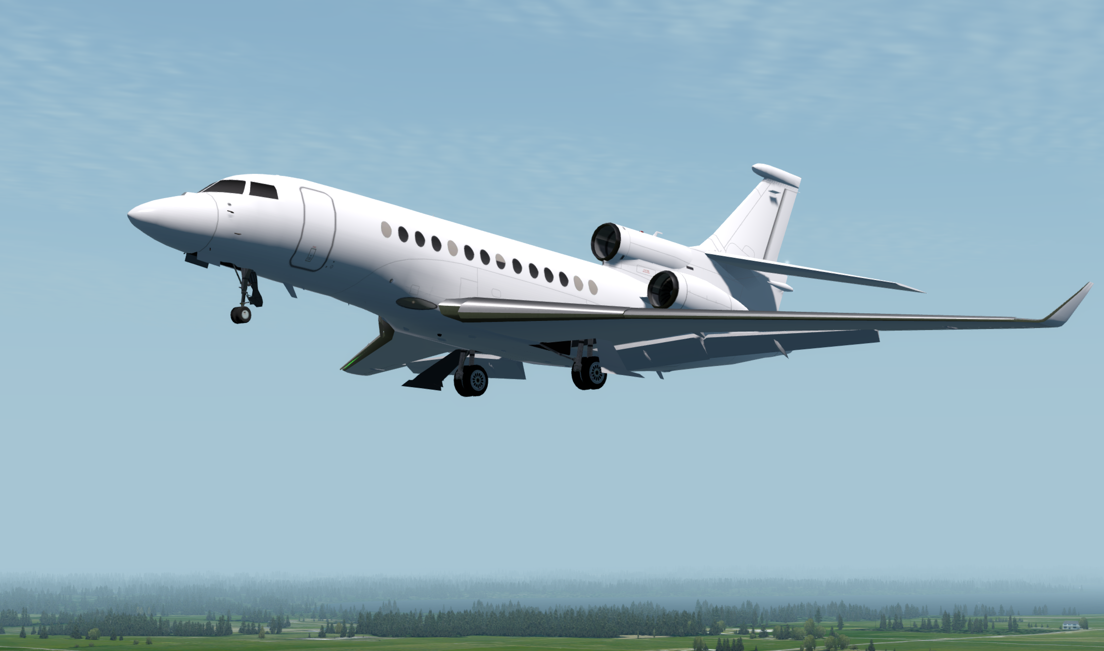DFAI DEVELOPPEMENT - FALCON 7X AND FALCON 8X FS2004