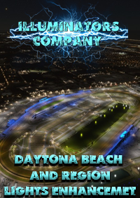 ILLUMINATORS - DAYTONA BEACH, FLAGER BEACH, NEW SMYRNA NIGHT LIGHT ENHANCED MSFS