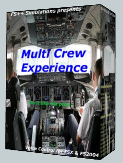 FS++ LIMITED - MULTI CREW EXPERIENCE ULTIMATE EDITION  P3D FSX FS2004 MSFS