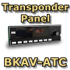 FI - BKAV-ATC BENDIX KING STYLE TRANSPONDER PANEL
