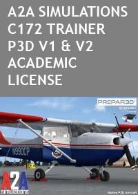 A2A SIMULATIONS - C172 TRAINER P3D ACADEMIC
