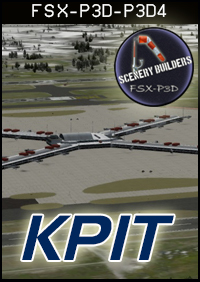 FSXCENERY -  KPIT PITTSBURGH INTERNATIONAL AIRPORT FSX P3D