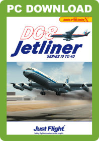 JUSTFLIGHT - DC-8 JETLINER SERIES 10 TO 40 FSX P3D (DOWNLOAD)