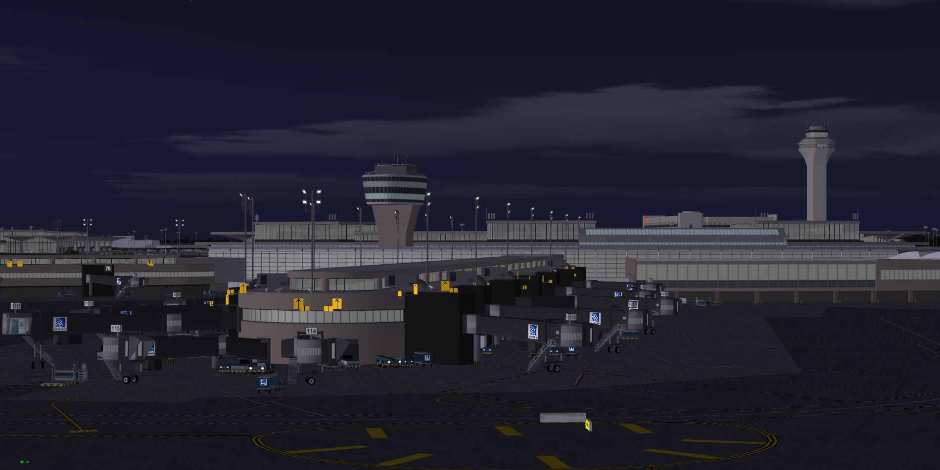 BLUEPRINT - KEWR NEWARK LIBERTY INTERNATIONAL FSX