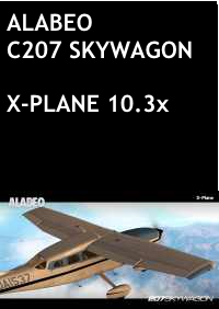 ALABEO - C207 SKYWAGON X-PLANE 10