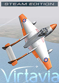 VIRTAVIA - DE HAVILLAND VAMPIRE T.11 FSX STEAM EDITION DLC