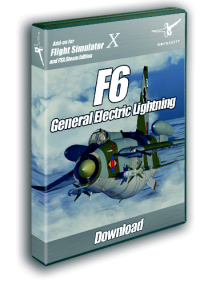AEROSOFT - ENGLISH ELECTRIC LIGHTNING F6 FSX P3D (DOWNLOAD)
