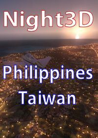 TABURET - FSX P3D NIGHT 3D PHILIPPINES, TAIWAN
