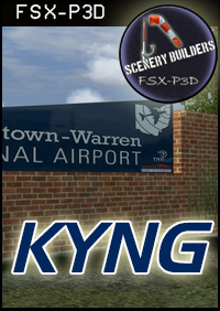 FSXCENERY -   KYNG YOUNGSTOWN WARREN REGIONAL AIRPORT FSX P3D