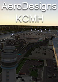 AERODESIGNS - KCMH - COLUMBUS INTERNATIONAL AIRPORT X-PLANE 11