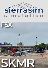 SIERRASIM SIMULATION - SKMR LOS GARZONES INTERNATIONAL AIRPORT FSX