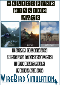 REAL VOICES - HELICOPTER MISSION PACK MSFS