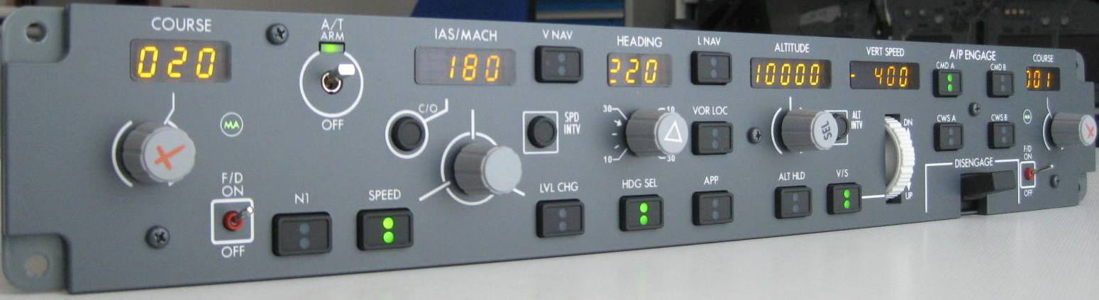CP FLIGHT - B737 MODE CONTROL PANEL (EL SERIES) MCP737EL