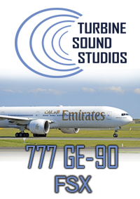 TURBINE SOUND STUDIOS - BOEING 777 GE-90 HD SOUNDPACK FSX