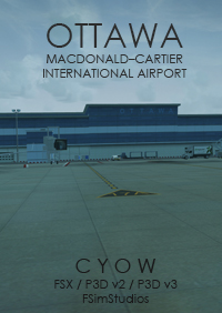 FSIMSTUDIOS - OTTAWA INTERNATIONAL AIRPORT CYOW FSX P3D