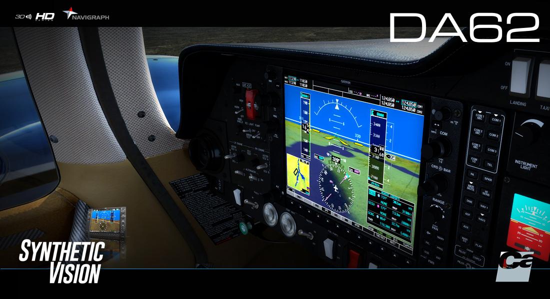 CARENADO - DA62 G1000 FSX P3D