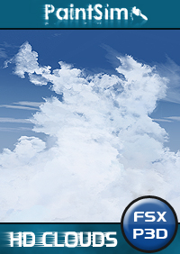 PAINTSIM - HD REALISTIC CLOUDS 高清云美化 FSX P3D