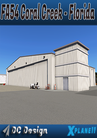 DC SCENERY DESIGN - FA54 CORAL CREEK AIRPORT FLORIDA X-PLANE 11
