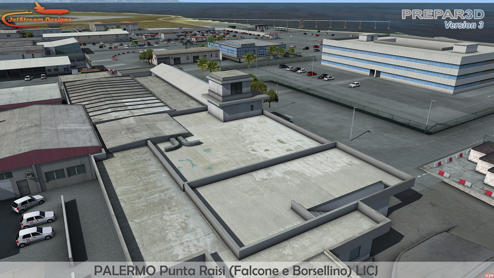 JETSTREAM DESIGNS - PALERMO FALCONE E BORSELLINO AIRPORT FSX P3D