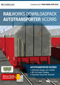 RAILWORKS DOWNLOADPACK - AUTOTRANSPORTER HCCRRS - ERWEITERUNG FÜR TRAIN SIMULATOR 2016