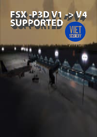 VIET SIM SCENERY - VINH INTERNATIONAL AIRPORT FSX P3D1-4