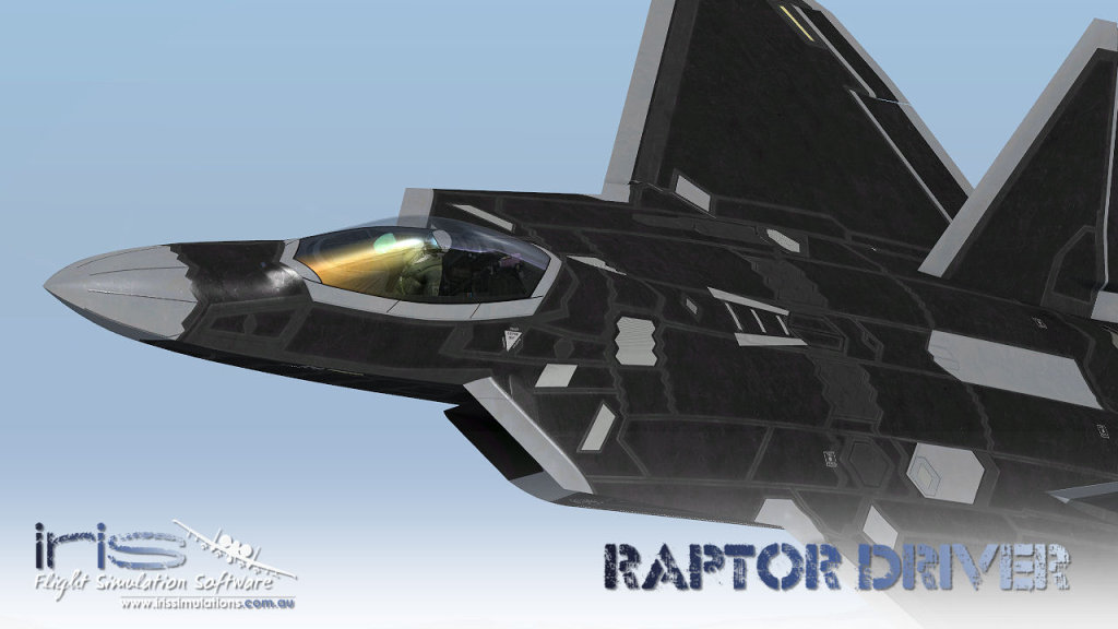 IRIS AIRFORCE SERIES - RAPTOR DRIVER FSX