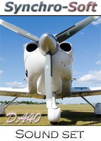 SYNCHRO-SOFT - DIAMOND DA40 HD SOUNDSET FSX