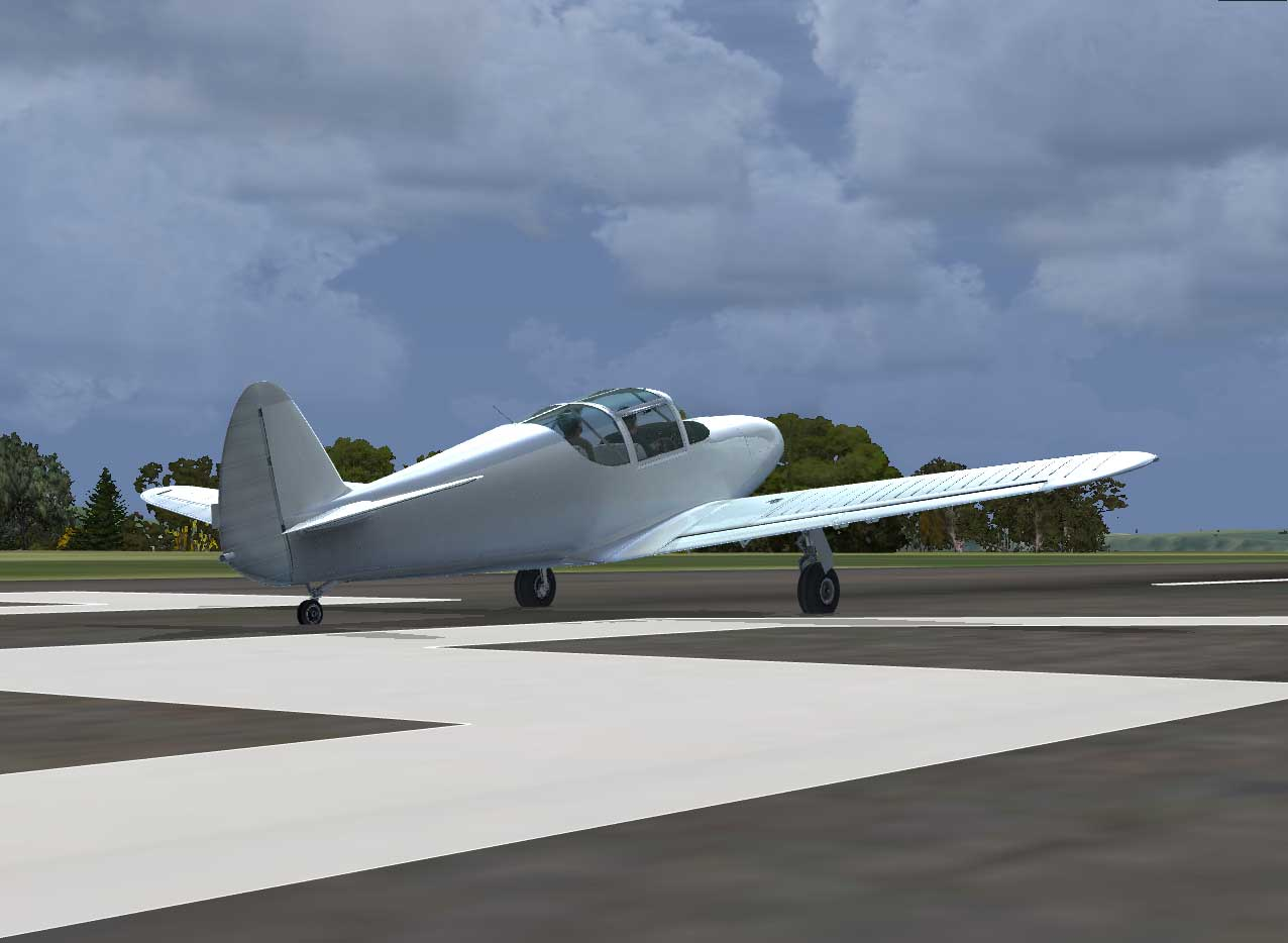 JUSTFLIGHT - AEROPLANE HEAVEN GLOBE SWIFT GC1-A FSX P3D