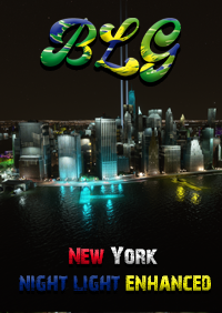 BRAZIL LAND GAMES - NEW YORK - SUPER NIGHT LIGHT ENHANCED MSFS