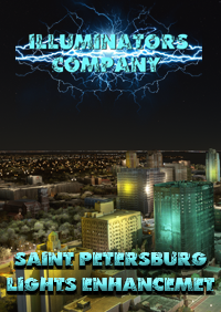 SAINT PETERSBURG NIGHT LIGHT ENHANCED MSFS