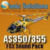SONIC SOLUTIONS - AS350/355 SOUNDPACK FSX