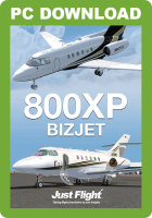 JUSTFLIGHT - 800XP BIZJET (DOWNLOAD)