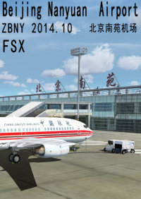 DAZZLE COLOUR GAME - BEIJING NANYUAN AIRPORT ZBNY 2014.10 FSX
