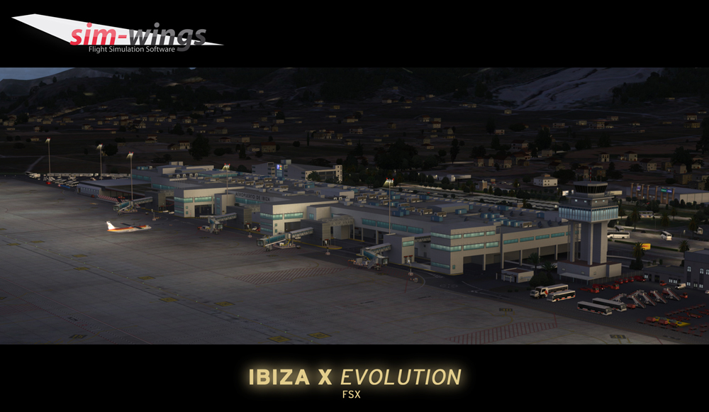 AEROSOFT - IBIZA X EVOLUTION FSX P3D (DOWNLOAD)