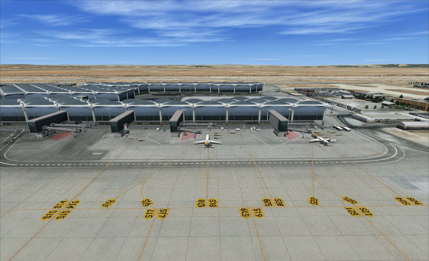 ARMI PROJECT - QUEEN ALIA INTERNATIONAL AIRPORT OJAI FSX