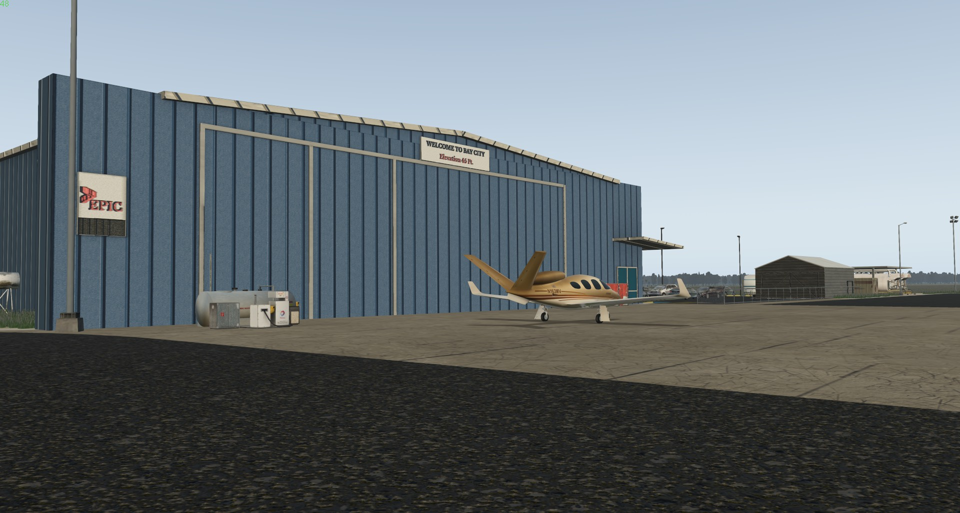 YD DESIGN - BAY CITY-KBYY X-PLANE 11