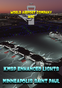 WORLD AIRPORT COMPANY - MINNEAPOLIS-SAINT PAUL AIRPORT LIGHTS KMSP FOR MSFS