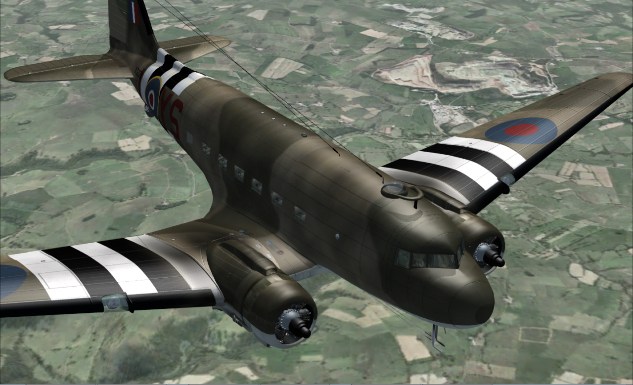 JUSTFLIGHT - DC-3 LEGENDS OF FLIGHT