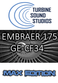 TURBINE SOUND STUDIOS - EMBRAER 175 MAX EDITION FSX P3D