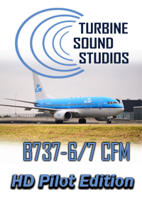 TURBINE SOUND STUDIOS - BOEING 737-600/700 CFM56-7B20 HD PILOT EDITION V2 SOUNDPACK FOR FS2004