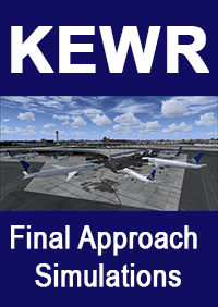 FINAL APPROACH SIMULATIONS - KEWR NEWARK LIBERTY INTERNATIONAL AIRPORT - FSX P3D
