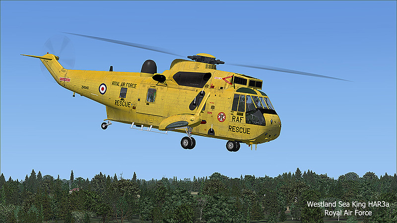 VIRTAVIA - SH-3 SEA KING P3D