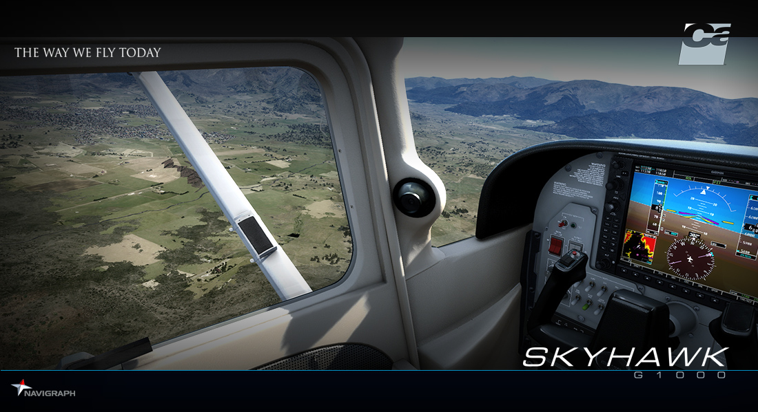 CARENADO - C172SP SKYHAWK G1000 FSX P3D