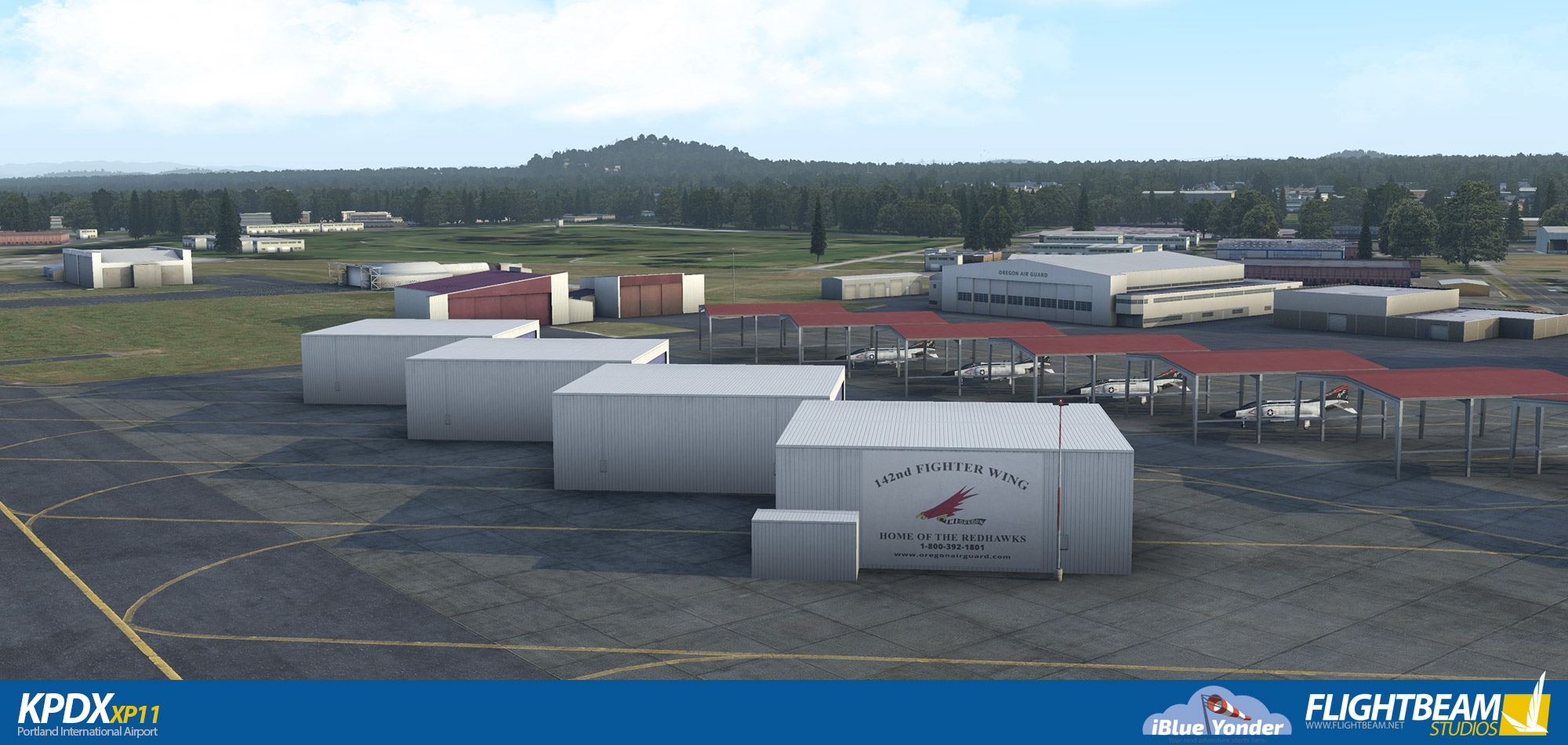 FLIGHTBEAM STUDIOS - KPDX - PORTLAND INTERNATIONAL AIRPORT XP11