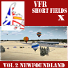 VFR-SHORT FIELDS X - VOLUME 2 NEWFOUNDLAND