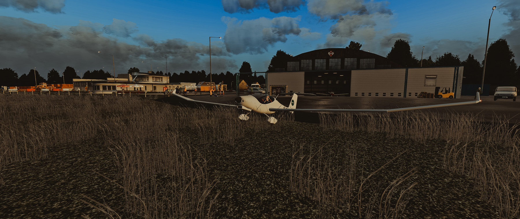 POLAND PHOTO SCENERY -  EPNT NOWY TARG X-PLANE 11
