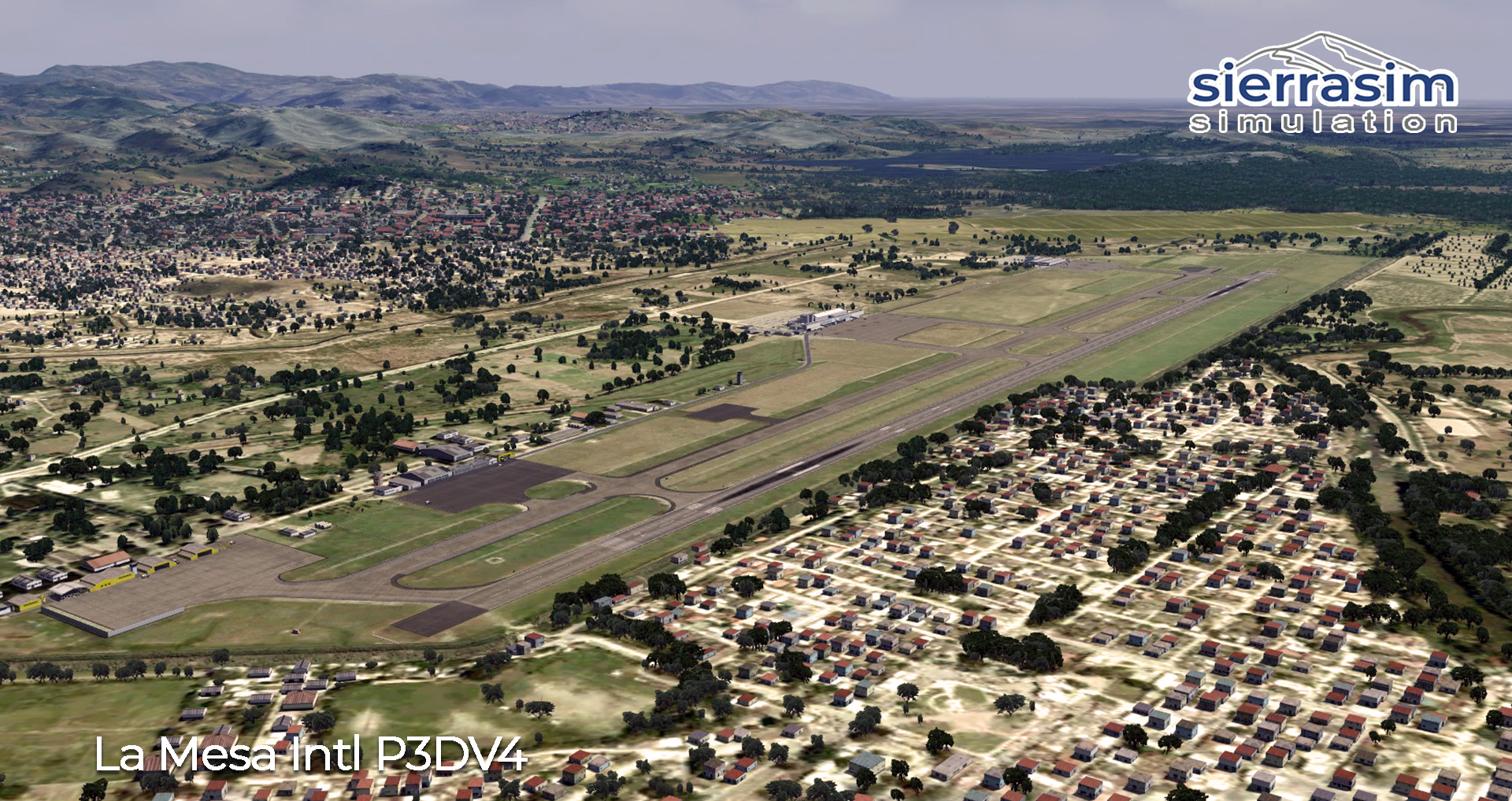 SIERRASIM SIMULATION - MHLM LA MESA INTERNATIONAL AIRPORT P3D4-5